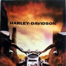 Coches y Motocicletas: CATÁLOGO OFICIAL MOTOCICLETAS HARLEY-DAVIDSON AÑO 2000.. Lote 59849828