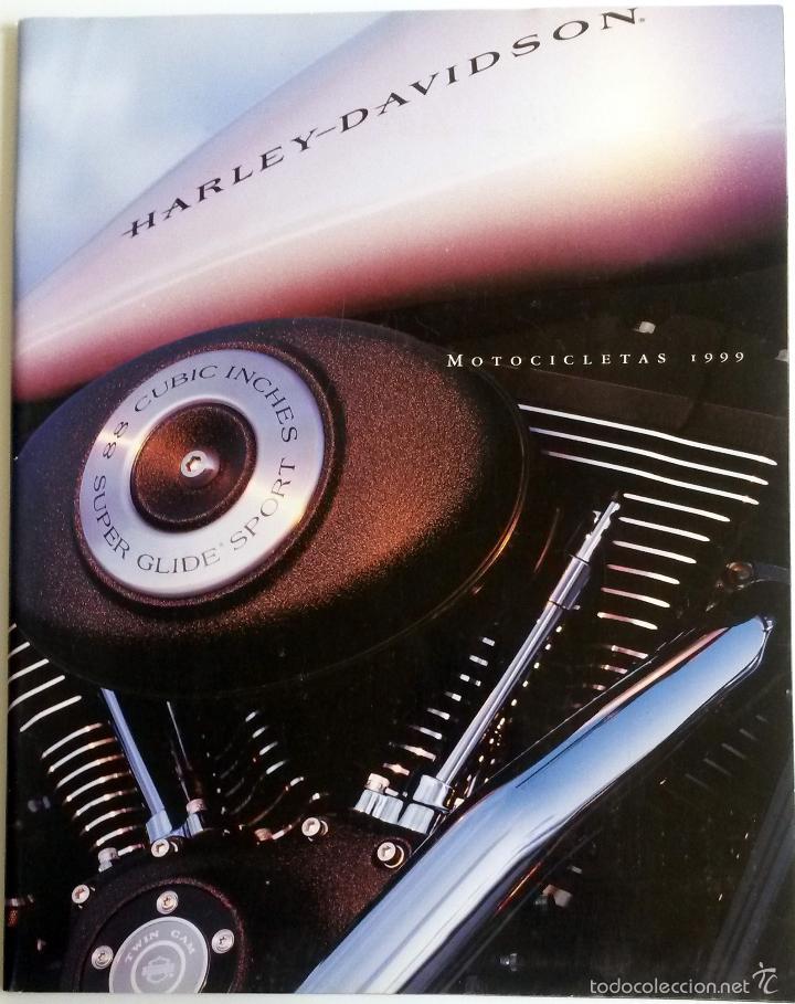 CATÁLOGO OFICIAL MOTOCICLETAS HARLEY-DAVIDSON AÑO 1999. (Coches y Motocicletas Antiguas y Clásicas - Catálogos, Publicidad y Libros de mecánica)