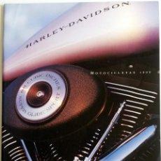 Coches y Motocicletas: CATÁLOGO OFICIAL MOTOCICLETAS HARLEY-DAVIDSON AÑO 1999.. Lote 59850028