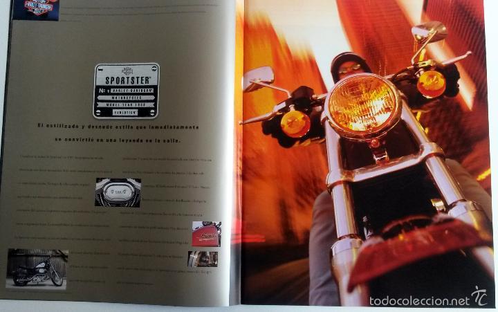 Coches y Motocicletas: CATÁLOGO OFICIAL MOTOCICLETAS HARLEY-DAVIDSON Año 1999. - Foto 2 - 59850028