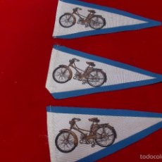 Coches y Motocicletas: MOBYLETTE BANDERINES LOTE DE 3. Lote 60991381