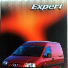 Coches y Motocicletas: DOSSIER PRENSA PEUGEOT EXPERT - AÑO 2004.. Lote 60275055