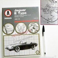 Coches y Motocicletas: LIBRO JAGUAR E TYPE 1961 72 -TEXTO INGLÉS - MAGNÍFICAS ILUSTR- MECÁNICA COCHES COCHE MANUAL GUÍA OWM. Lote 60497683