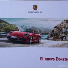 Coches y Motocicletas: CATÁLOGO PORSCHE BOXSTER GTS. MARZO 2014. EN ESPAÑOL. Lote 89847787