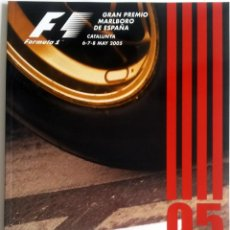 Coches y Motocicletas: PROGRAMA OFICIAL GRAN PREMIO DE ESPAÑA - CATALUNYA 2005. TEXTO EN INGLÉS Y ESPAÑOL.. Lote 60845839