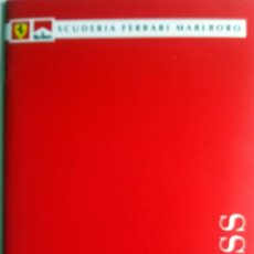 Coches y Motocicletas: DOSSIER DE PRENSA FERRARI MALBORO F1- TEMPORADA 1999/2000. TEXTO EN INGLÉS E ITALIANO.. Lote 60848359