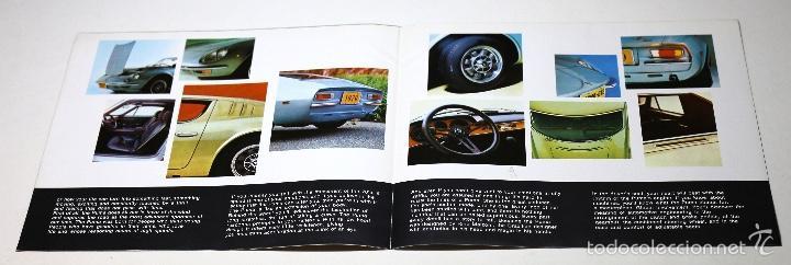 Coches y Motocicletas: Folleto publicitario deportivo clásico PUMA GTE - Foto 3 - 60954947