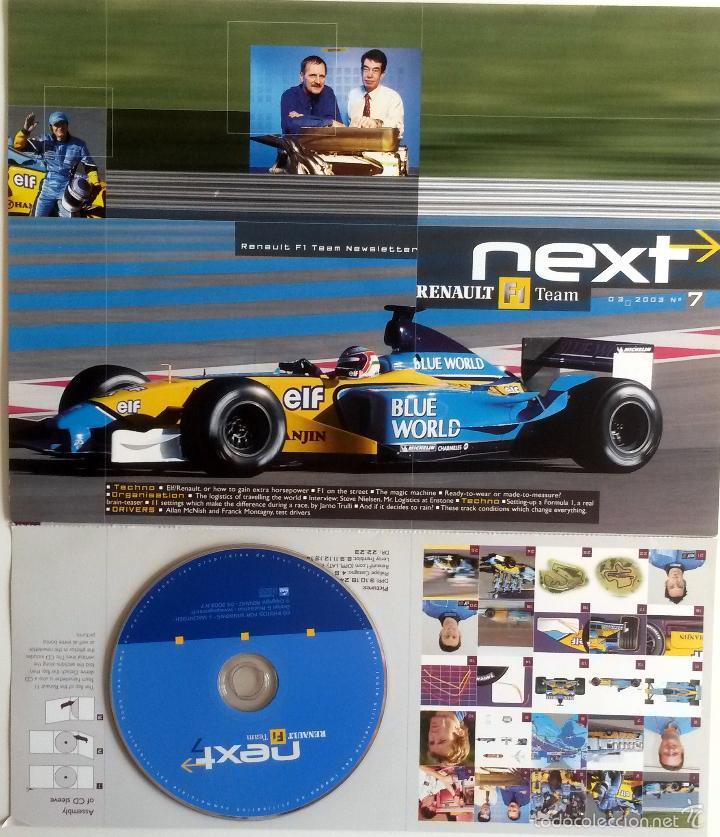 NEXT RENAULT F1 TEAM - BOLETIN OFICIAL Nº 5 - AGOSTO 2002. TEXTO EN INGLÉS. (Coches y Motocicletas Antiguas y Clásicas - Catálogos, Publicidad y Libros de mecánica)