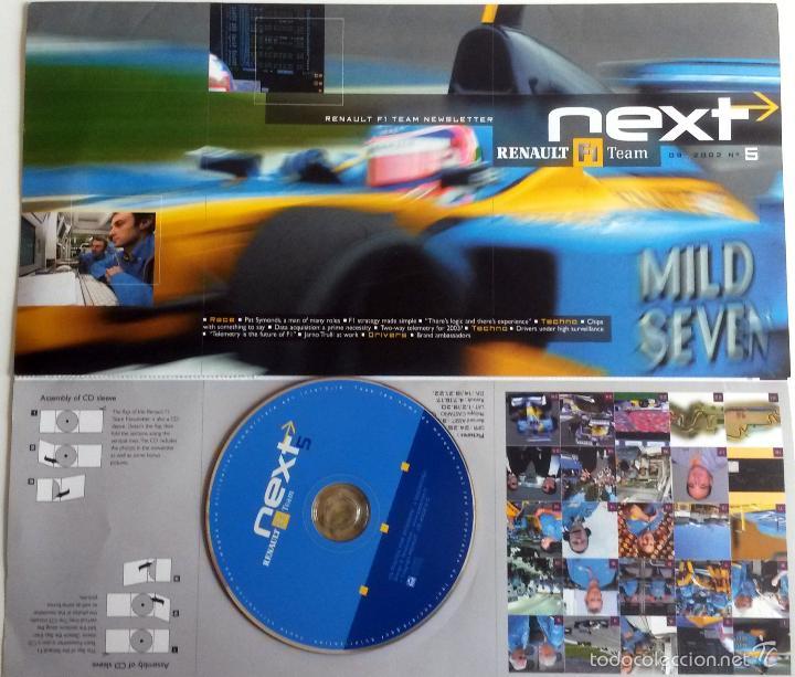 NEXT RENAULT F1 TEAM - BOLETIN OFICIAL Nº 7 - MARZO 2003. TEXTO EN INGLÉS. (Coches y Motocicletas Antiguas y Clásicas - Catálogos, Publicidad y Libros de mecánica)