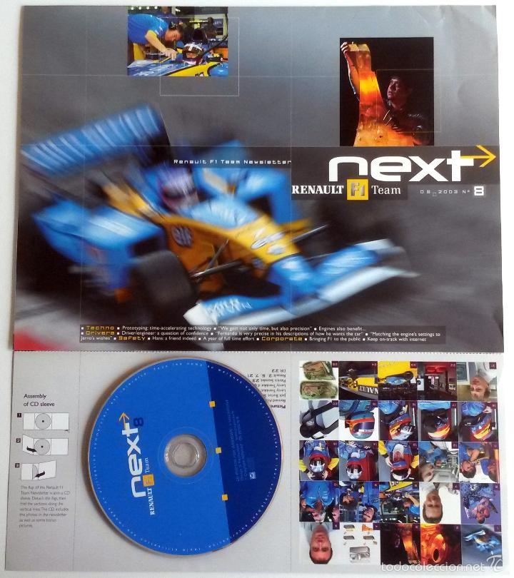 NEXT RENAULT F1 TEAM - BOLETIN OFICIAL Nº 8 - MAYO 2003. TEXTO EN INGLÉS. (Coches y Motocicletas Antiguas y Clásicas - Catálogos, Publicidad y Libros de mecánica)