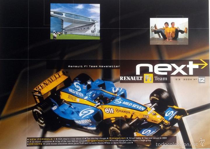 NEXT RENAULT F1 TEAM - BOLETIN OFICIAL Nº 12 - MARZO 2004. TEXTO EN INGLÉS. (SIN CD) (Coches y Motocicletas Antiguas y Clásicas - Catálogos, Publicidad y Libros de mecánica)