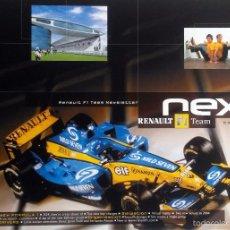 Coches y Motocicletas: NEXT RENAULT F1 TEAM - BOLETIN OFICIAL Nº 12 - MARZO 2004. TEXTO EN INGLÉS. (SIN CD). Lote 61272223
