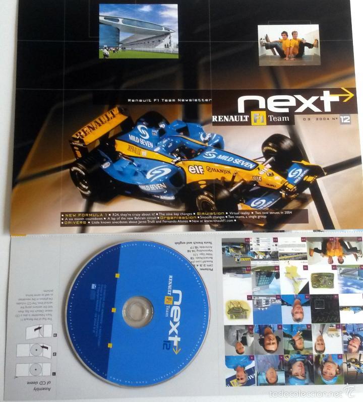 NEXT RENAULT F1 TEAM - BOLETIN OFICIAL Nº 12 - MARZO 2004. TEXTO EN INGLÉS. (Coches y Motocicletas Antiguas y Clásicas - Catálogos, Publicidad y Libros de mecánica)