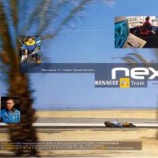 Coches y Motocicletas: NEXT RENAULT F1 TEAM - BOLETIN OFICIAL Nº 13 - MAYO 2004. TEXTO EN INGLÉS. (SIN CD). Lote 61272543