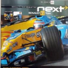 Coches y Motocicletas: NEXT RENAULT F1 TEAM - BOLETIN OFICIAL Nº 20 - JUNIO 2005. TEXTO EN INGLÉS.. Lote 61273095