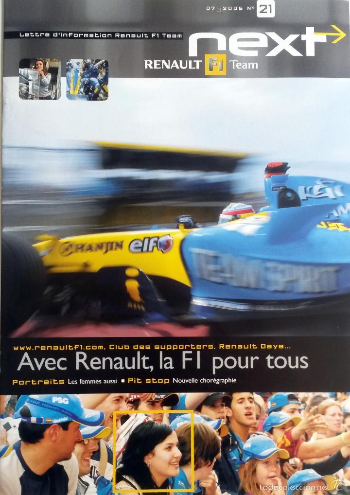 NEXT RENAULT F1 TEAM - BOLETIN OFICIAL Nº 21 - JULIO 2005. TEXTO EN INGLÉS. (Coches y Motocicletas Antiguas y Clásicas - Catálogos, Publicidad y Libros de mecánica)