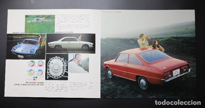 Coches y Motocicletas: Catálogo MAZDA años 70. Varios modelos. - Foto 2 - 61508763