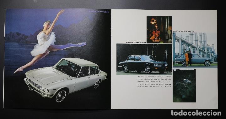 Coches y Motocicletas: Catálogo MAZDA años 70. Varios modelos. - Foto 3 - 61508763