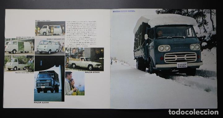 Coches y Motocicletas: Catálogo MAZDA años 70. Varios modelos. - Foto 5 - 61508763