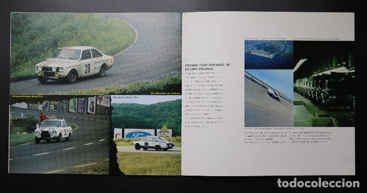 Coches y Motocicletas: Catálogo MAZDA años 70. Varios modelos. - Foto 6 - 61508763