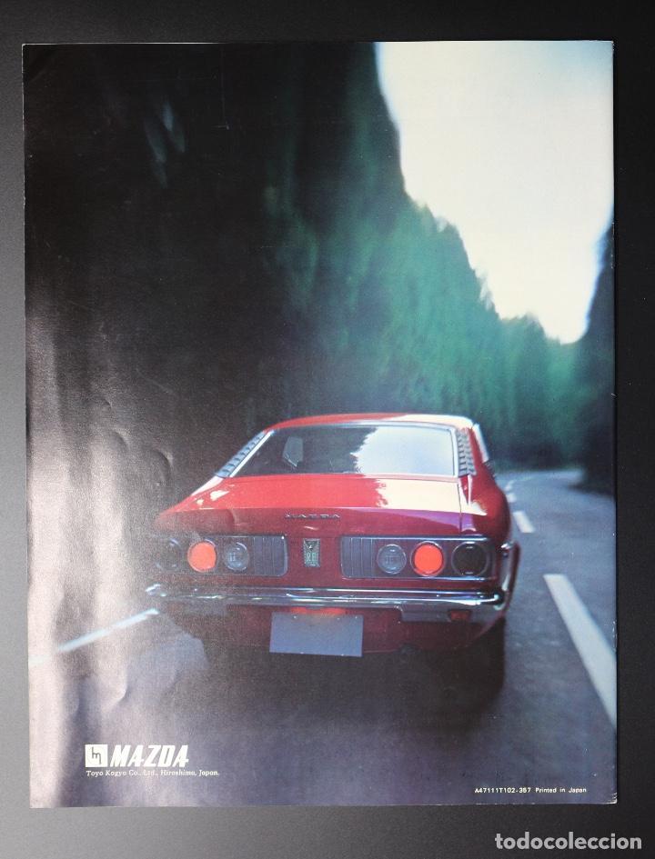 Coches y Motocicletas: Catálogo MAZDA RX-3 Rotary Power (Motor Rotativo Wankel) Años 70. Gran formato. - Foto 2 - 61510459