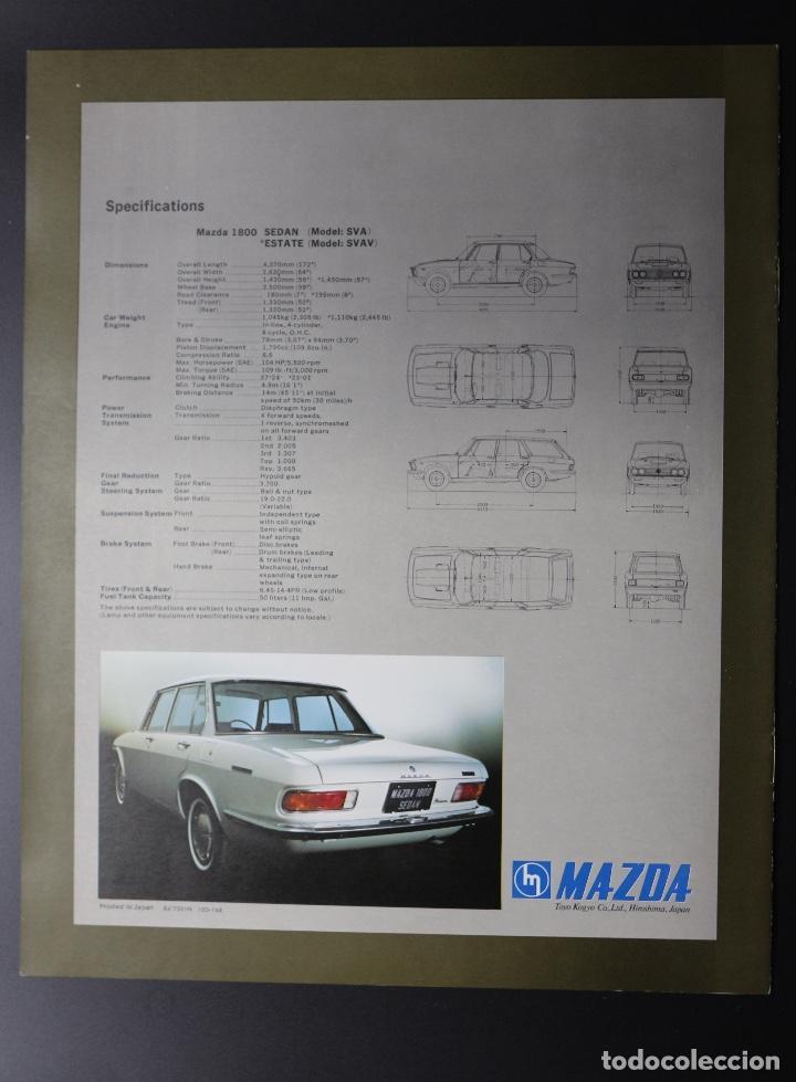 Coches y Motocicletas: Catálogo MAZDA 1800 Sedán y Estate - Foto 2 - 61570220
