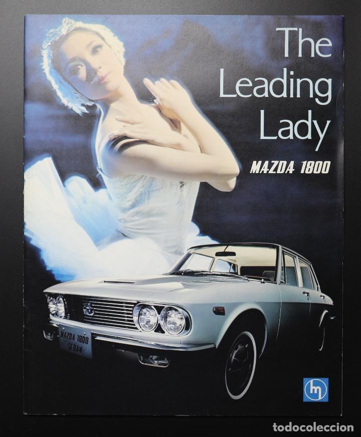 CATÁLOGO MAZDA 1800 THE LEADING LADY (Coches y Motocicletas Antiguas y Clásicas - Catálogos, Publicidad y Libros de mecánica)