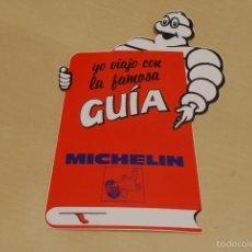 Coches y Motocicletas: PEGATINA PUBLICITARIA DE LA GUÍA MICHELÍN. AÑOS 80.. Lote 62042848