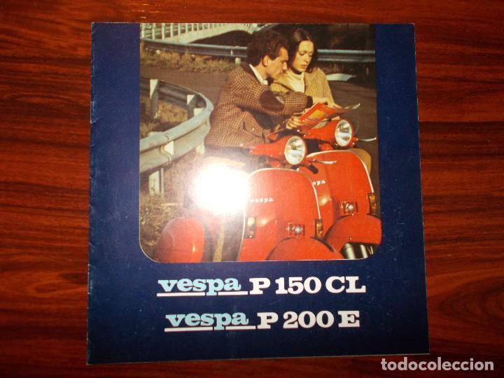 CATÁLOGO VESPA (Coches y Motocicletas Antiguas y Clásicas - Catálogos, Publicidad y Libros de mecánica)