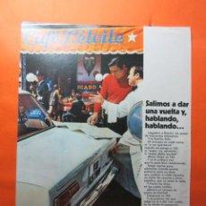 Coches y Motocicletas: PUBLICIDAD 1970 - COLECCION COCHES - SEAT 124. Lote 62147524