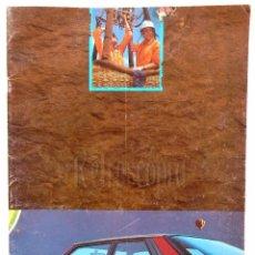Coches y Motocicletas: CATALOGO PUBLICIDAD RENAULT 11 GTX TURBO TXE TSE GTL GTC GTD AÑO 1987 EN CASTELLANO. Lote 62468224
