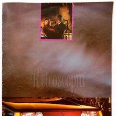 Coches y Motocicletas: CATALOGO DESPLEGABLE PUBLICIDAD RENAULT 11 BROADWAY AÑO 1987 EN CASTELLANO. Lote 62468616