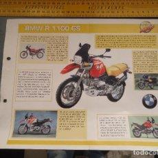Coches y Motocicletas: MOTO MOTOR BMW R 1100 GS. Lote 62516208