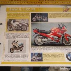 Coches y Motocicletas: MOTO MOTOR BMW R 1100 RS. Lote 62516244