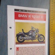 Coches y Motocicletas: MOTO MOTOR BMW R 1200 C . Lote 62517332