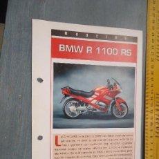 Coches y Motocicletas: MOTO MOTOR BMW R 1100 RS. Lote 62517392