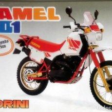 Coches y Motocicletas: CATÁLOGO ORIGINAL MOTO MORINI CAMEL 501.. Lote 63118672