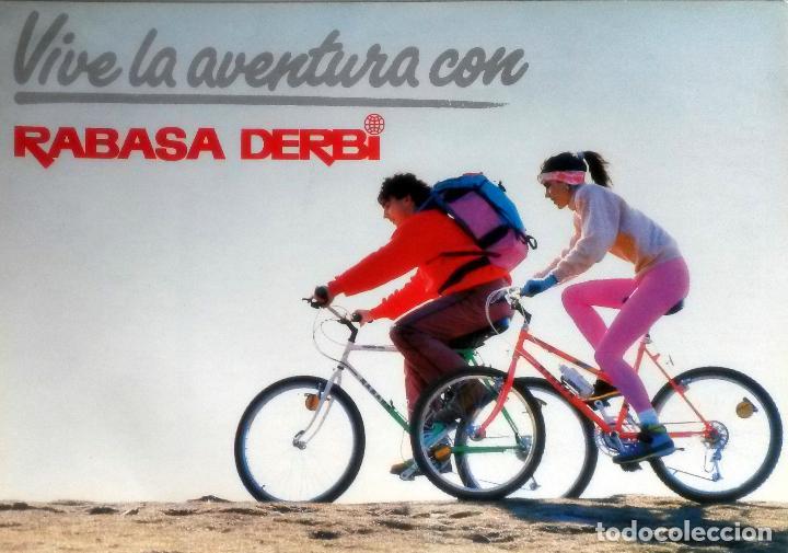 CATÁLOGO ORIGINAL RABASA DERBI MOUNTAIN BIKE. (Coches y Motocicletas Antiguas y Clásicas - Catálogos, Publicidad y Libros de mecánica)