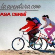 Coches y Motocicletas: CATÁLOGO ORIGINAL RABASA DERBI MOUNTAIN BIKE.. Lote 246212585