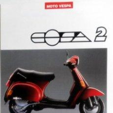 Coches y Motocicletas: CATÁLOGO ORIGINAL VESPA COSA 200.. Lote 63120832