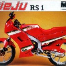 Coches y Motocicletas: CATÁLOGO ORIGINAL RIEJU RS1.. Lote 63122628