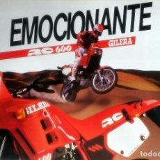 Coches y Motocicletas: CATÁLOGO ORIGINAL GILERA RC 600.. Lote 63123168