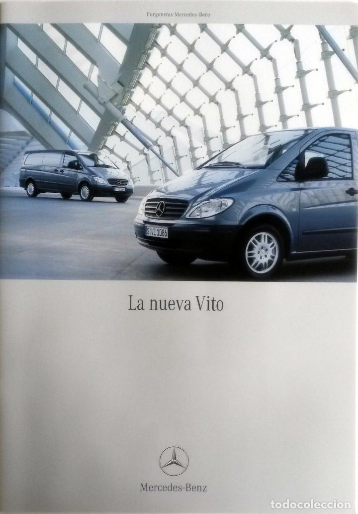 CATÁLOGO ORIGINAL MERCEDES-BENZ VITO. (Coches y Motocicletas Antiguas y Clásicas - Catálogos, Publicidad y Libros de mecánica)