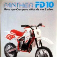 Coches y Motocicletas: CATÁLOGO ORIGINAL PANTHER FD 10 - RABASA. (PARA NIÑOS). Lote 63565712
