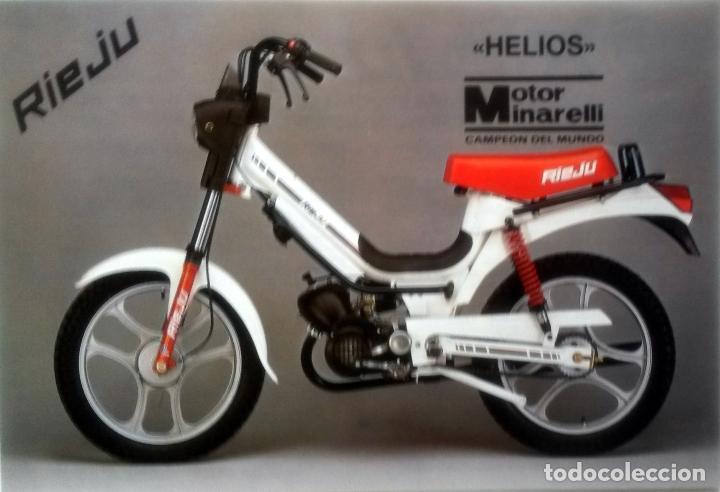 CATÁLOGO ORIGINAL RIEJU HELIOS. (Coches y Motocicletas Antiguas y Clásicas - Catálogos, Publicidad y Libros de mecánica)
