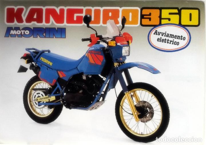 CATÁLOGO ORIGINAL MOTO MORINI KANGURO 350. (Coches y Motocicletas Antiguas y Clásicas - Catálogos, Publicidad y Libros de mecánica)