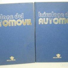 Coches y Motocicletas: 2 TOMOS ENCICLOPEDIA BRICOLAGE (BRICOLAJE) DEL AUTOMOVIL , ED. UVE 1979. Lote 63683115