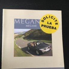 Coches y Motocicletas: FOLLETO CATALOGO PUBLICIDAD ORIGINAL RENAULT MEGANE COUPÉ CABRIOLET DE 2006. Lote 63719267