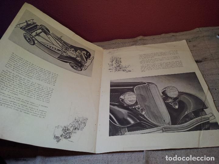Coches y Motocicletas: CATALOGO ORIGINAL FORD PRESENTACION NUEVO OCHO CILINDROS MODELO 40--AÑOS 30 ORIGINAL - Foto 2 - 63976323