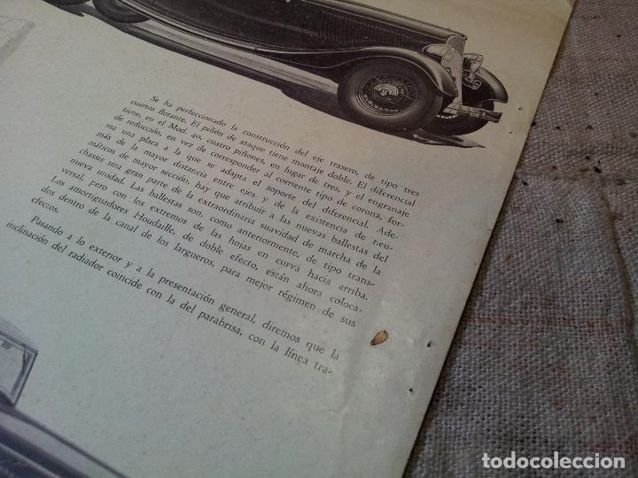 Coches y Motocicletas: CATALOGO ORIGINAL FORD PRESENTACION NUEVO OCHO CILINDROS MODELO 40--AÑOS 30 ORIGINAL - Foto 5 - 63976323